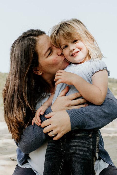 mama en dochter