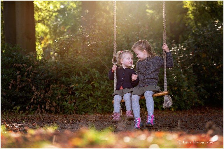 herfst kinderfotoshoot bij Duin en Kruidberg