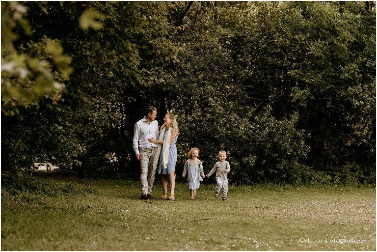 gezinsfotoshoot natuurgebied